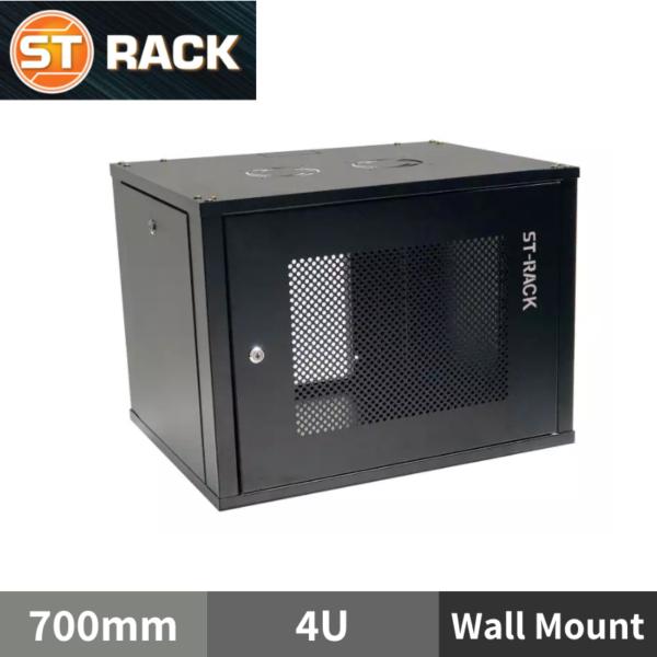 "ST RACK WM0467 Wall Mount Rack Enclosure 19"" - 700mm DEPTH (4U)"