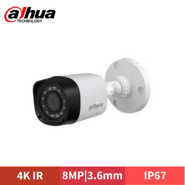 DAHUA 4K 8MP HD-CVI IR BULLET CAMERA