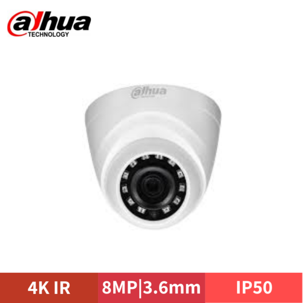 DAHUA 4K 8MP HD-CVI IR Eyeball Camera