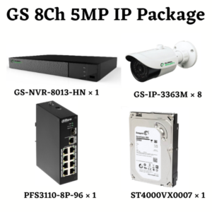 GLOBAL SECURITY 5MP IP Package 8-Channel 1