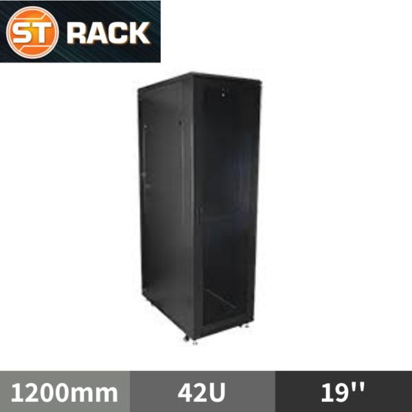 ST RACK FS42612 Floor Standing Rack Enclosure 19'' - 1200mm DEPTH (42U)