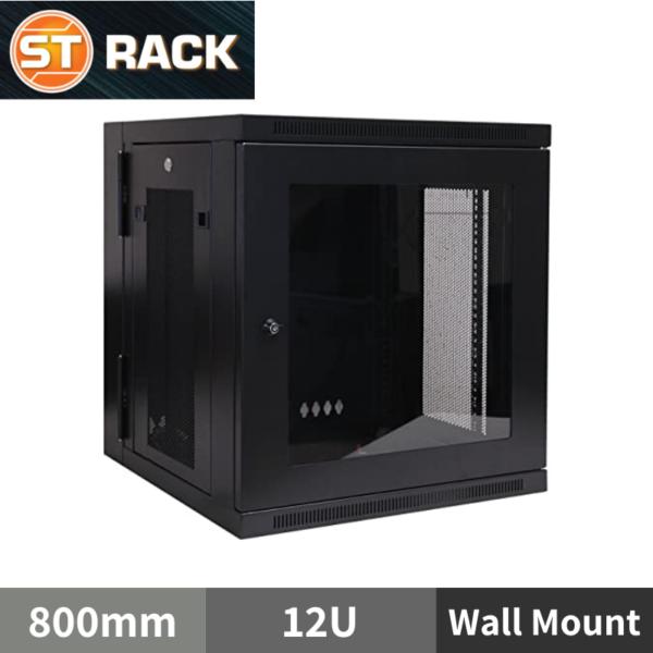 ST RACK WM1268 Wall Mount Rack Enclosure 19'' - 800mm DEPTH (12U)