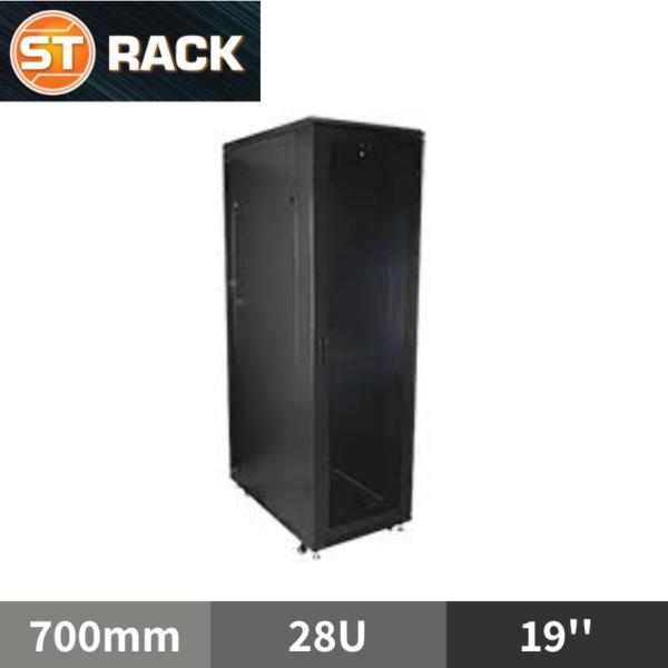 ST RACK FS2867 Floor Standing Rack Enclosure 19'' - 700mm DEPTH (28U)