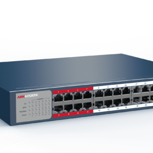 HIKVISION DS-3E0326P-E/M(B) VALUE SERIES 230W 24 PORT 100M LONG RANGE POE SWITCH