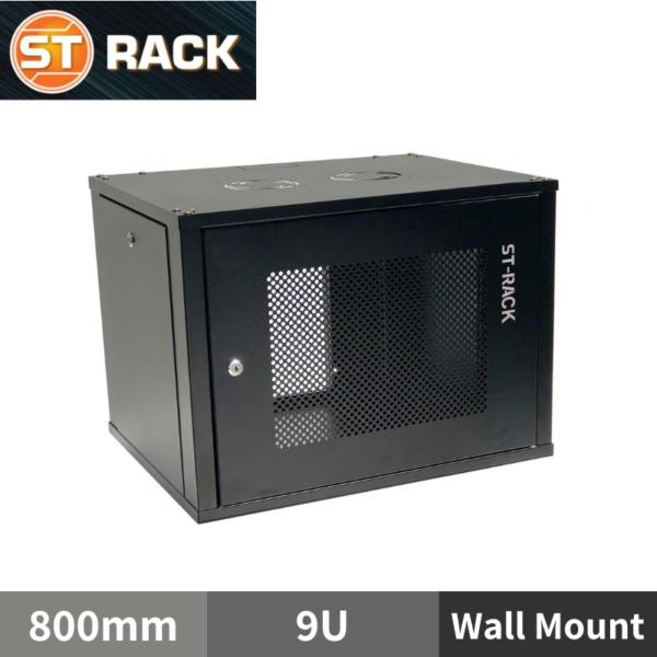 "ST RACK WM0968 Wall Mount Rack Enclosure 19"" - 800mm DEPTH (9U)"