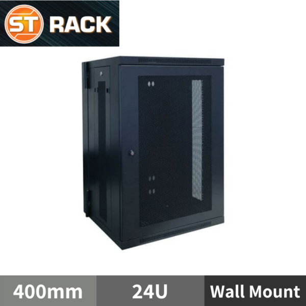 ST RACK WM2464 Wall Mount Rack Enclosure 19'' - 400mm DEPTH (24U)