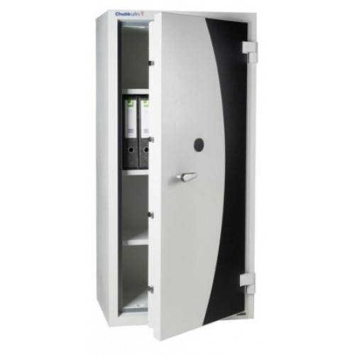 CHUBB DOCUMENT PROTECTION CABINET - SECURED BY KEYLESS COMBINATION LOCK & KEY LOCK M320