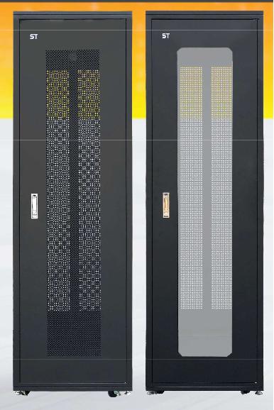 ST RACK FS24612 Floor Standing Rack Enclosure 19'' - 1200mm DEPTH (24U)